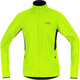 GORE RUNNING WEAR Essential WS Active Partial Jacket Men neon yellow/black